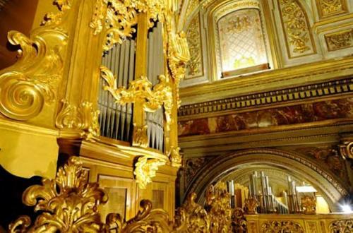 L'organo di Sant'Antonio dei Portoghesi-Foto sito ufficiale diSant'Antonio dei Portoghesi