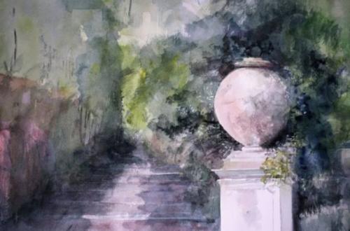 Silvano Tacus, Villa Pamphilj - il vaso