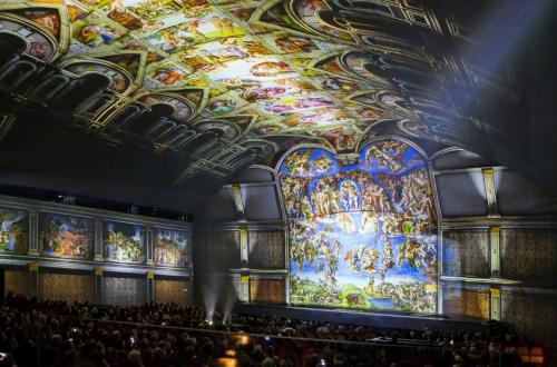 GIUDIZIO UNIVERSALE. Michelangelo and the Secrets of the Sistine Chapel