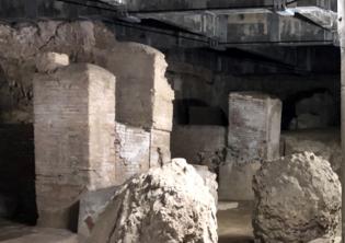 Nuove campagne di scavo negli ambienti sottostanti la Basilica di Massenzio