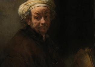 Rembrandt, Autoritratto come San Paolo, Foto Account Ufficiale Facebook Barberini Corsini