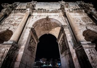 Arco di Costantino Foto Profilo Ufficiale Twitter Acea Gruppo