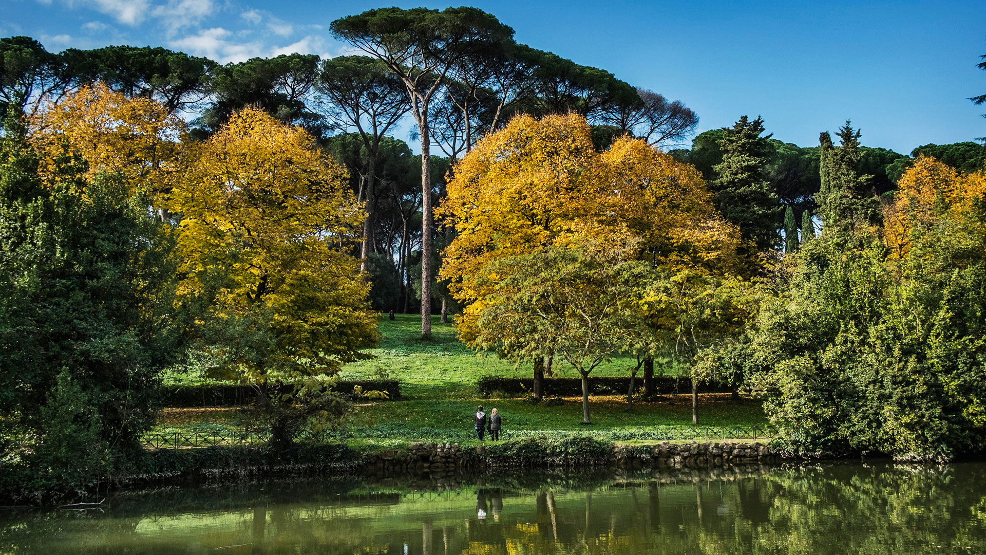 Villa Ada Savoia: uno splendido giardino all'inglese nel cuore di Roma