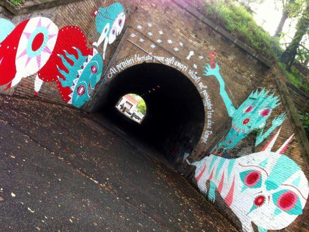 Gio Pistone, Tunnel del Quadraro